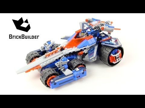 Lego Nexo Knights 70315 Clay's Rumble Blade - Lego Speed build