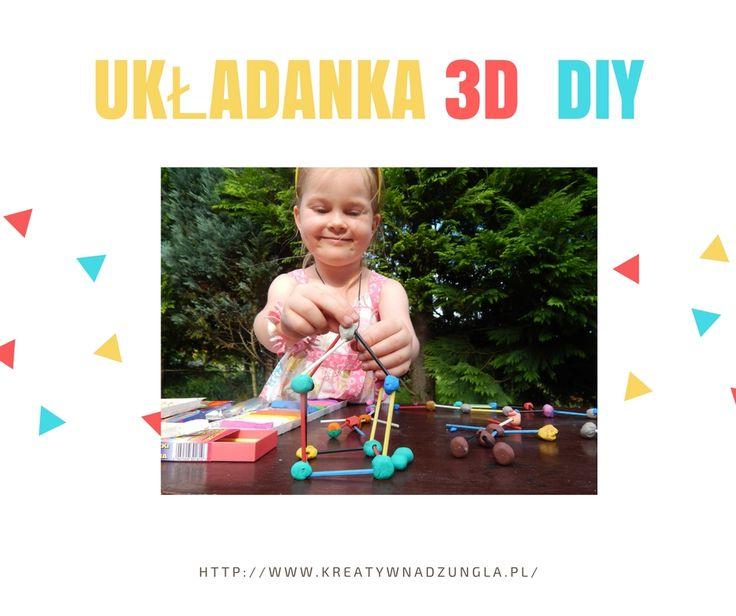 Kreatywna dżungla: Układanka 3D DIY