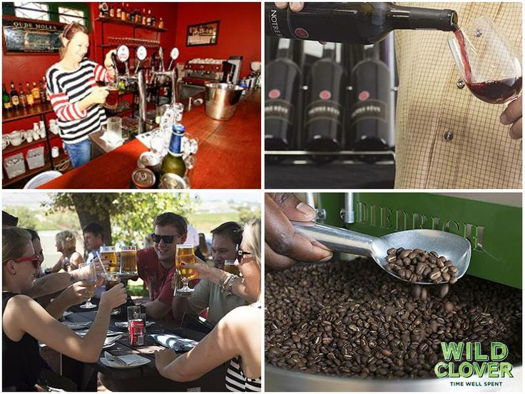 Roastery, winery, brewery and pub - We have something for absolutely everyone to enjoy. Come and spend some time with us.