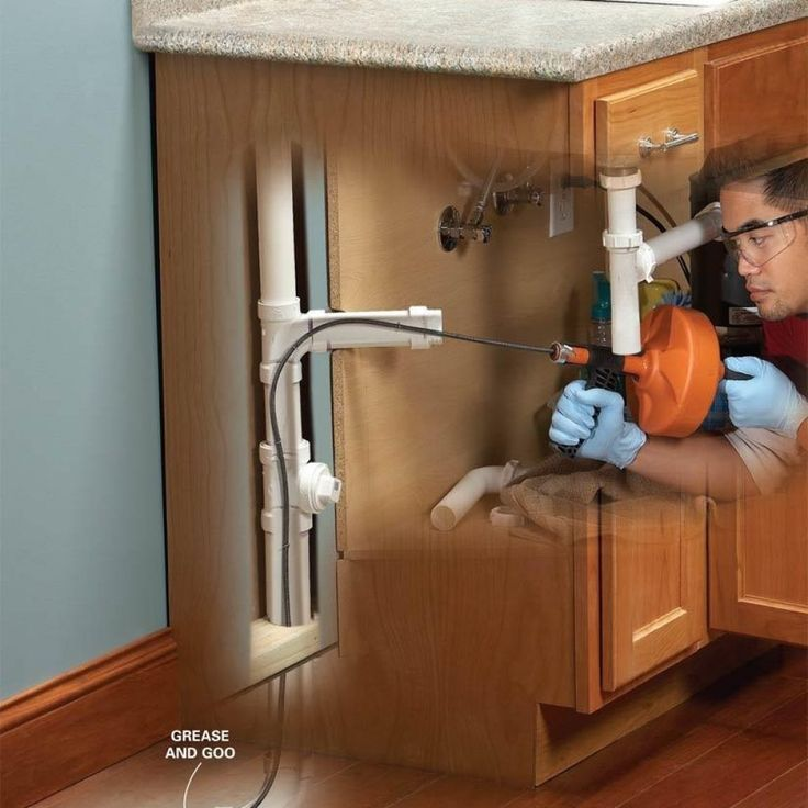 Fixing A Clogged Kitchen Sink Drain