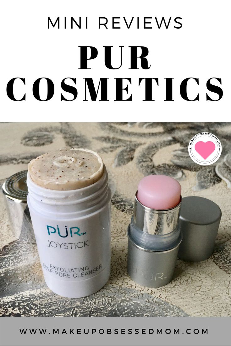Mini reviews of Pur Cosmetics products and a mystery bag giveaway on makeupobsessedmom.com via @stacieannh