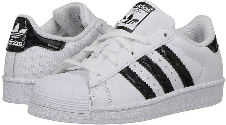 a4e800d9340a adidas Originals Kids Superstar Iridescent C Kids Shoes  Rubber shoe ...