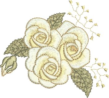 Sue Box Creations | Download Embroidery Designs | 28 - Roses-2