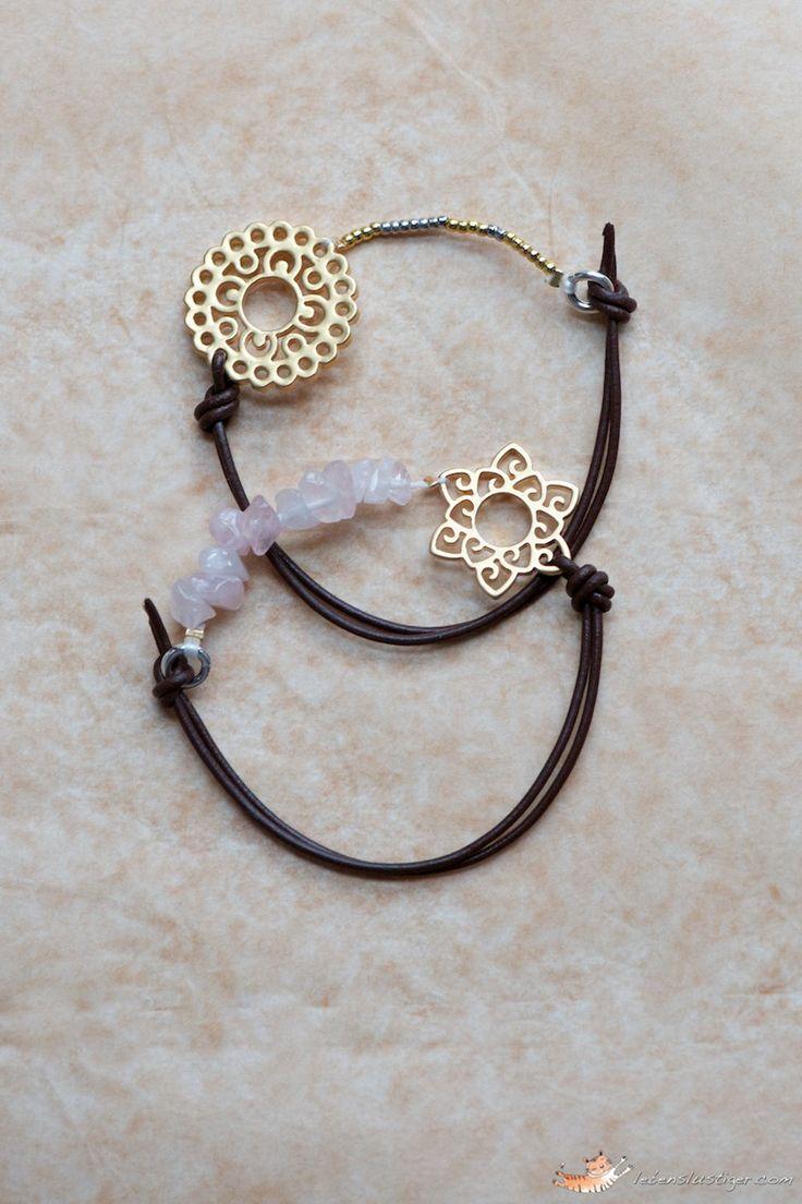 diy leather bracelet tutorial - photo #9