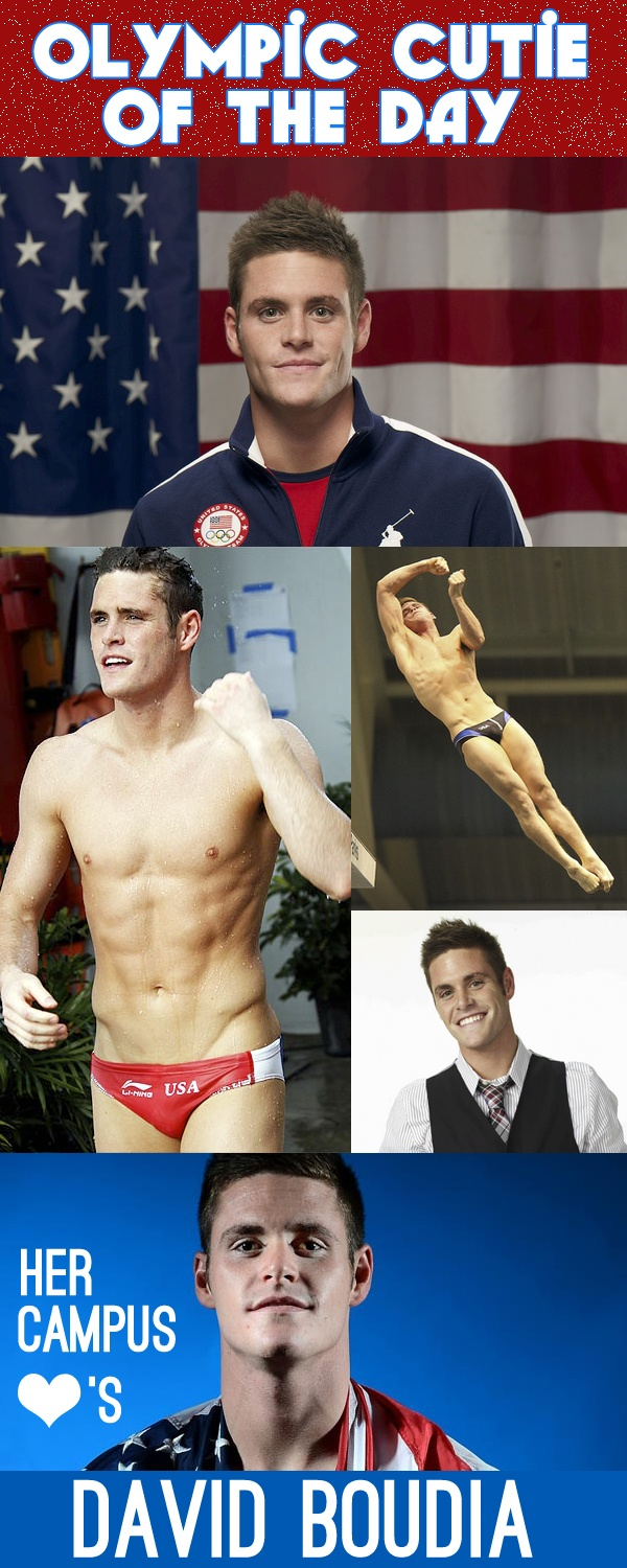 David Boudia: Olympic Cutie of the Day