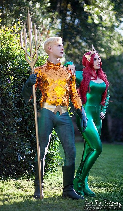 Aquaman x Mera - Julia James cosplay(Giulia Berardi) Aquaman Cosplay Photo - WorldCosplay
