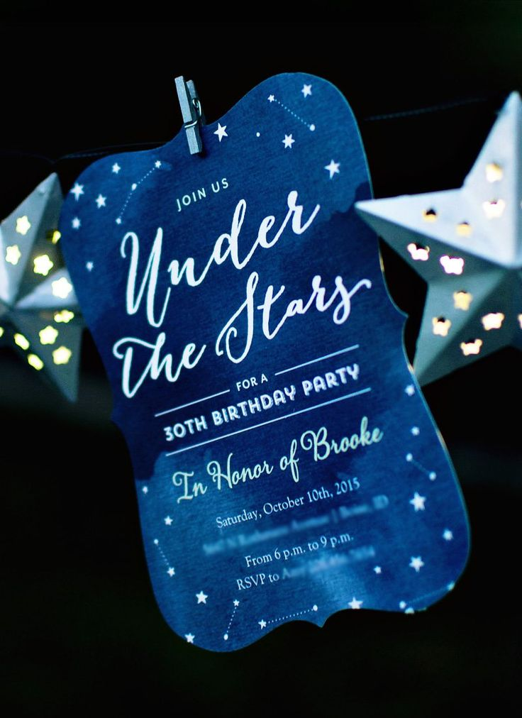 """Dreamy Backyard """"Under the Stars"""" S'mores Bar // Hostess with the Mostess®"""