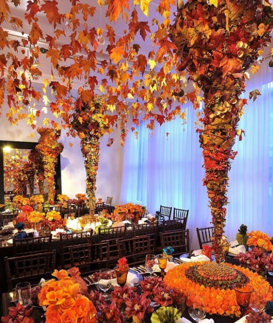 Hgtv Thanksgiving Decorations: Thanksgiving Table Decorations Can A Little Wild With