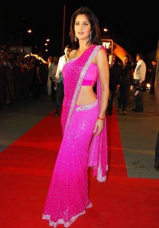 Gorgeous Katrina Kaif in a sizzling Saree!