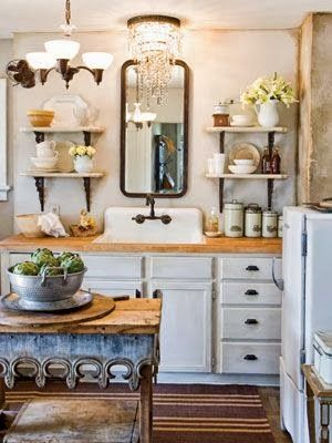 Sweet Vintage of Mine: OPEN SHELVING and getting ANTSY!