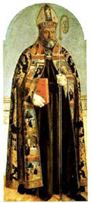St. Aurelius Augustine of Hippo (354-430). He became the best known Christian philosopher prior to the Middle ages. His philosophy is a loose adaptation of Plato to the requirements of Christianity.  In order to reconcile the idea that God is good with the evil that obviously exists in the world, he turned to the concept of free will and our personal responsibility for sin.  He emphasized intentions over actions when it comes to assigning moral responsibility.