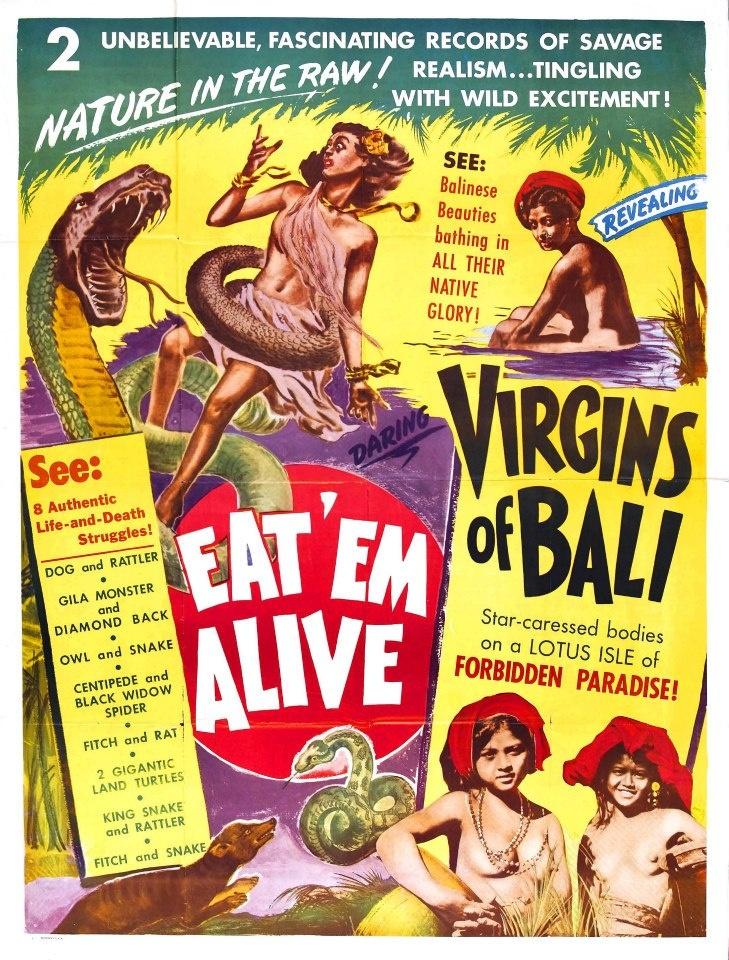 Virgins of Bali #voodoo #tiki #film