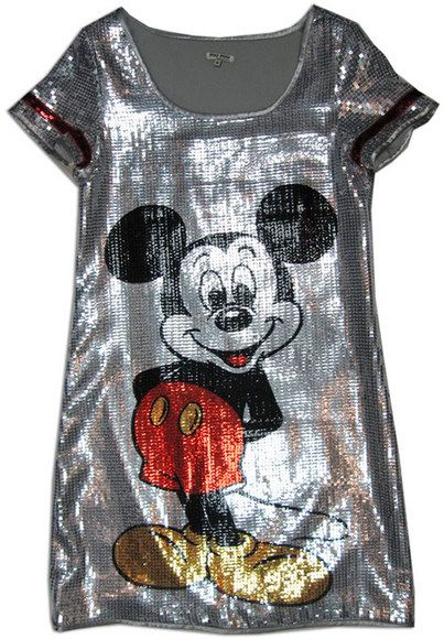 Sequin Mickey Mouse Dress