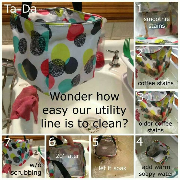 Cleaning Thirty-One products  I love that I can clean my products and they are as good as new!!  www.mythirtyone.com/crystaljohnsongifts