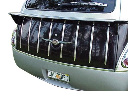 Chrysler PT Cruiser Accessory - ACC Chrysler PT Cruiser Chrome Nomad Retro Rear Hatch Kit