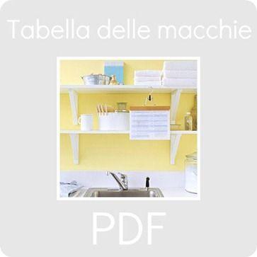 PDF: la tabella delle macchie - BabyGreen