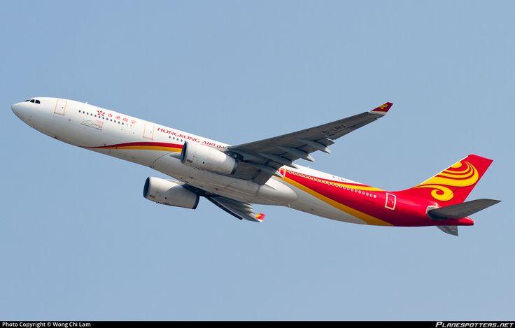 B-LNU Hong Kong Airlines Airbus A330-343