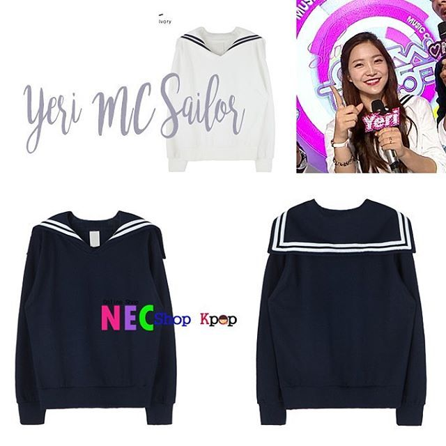 [RED VELVET STYLE] Yeri Sailor Collar | NEC Shop Kpop  FOR ORDER Line : eliansy/nelyaulia LINE@:jpz0431x(use@) whatsapp/sms : 08986516925/08996524425 BBM : 5439DDBD Facebook/page : nec shop kpop  PAYMENT : MANDIRI/BNI/WESEL POS/WESTERN UNION SHIPPING PRODUCT BY JNE/POS INDONESIA/EMS Happy Shopping Kak  we can shipping world wide ✈️ #necshopkpop #kpop #kpopstyle