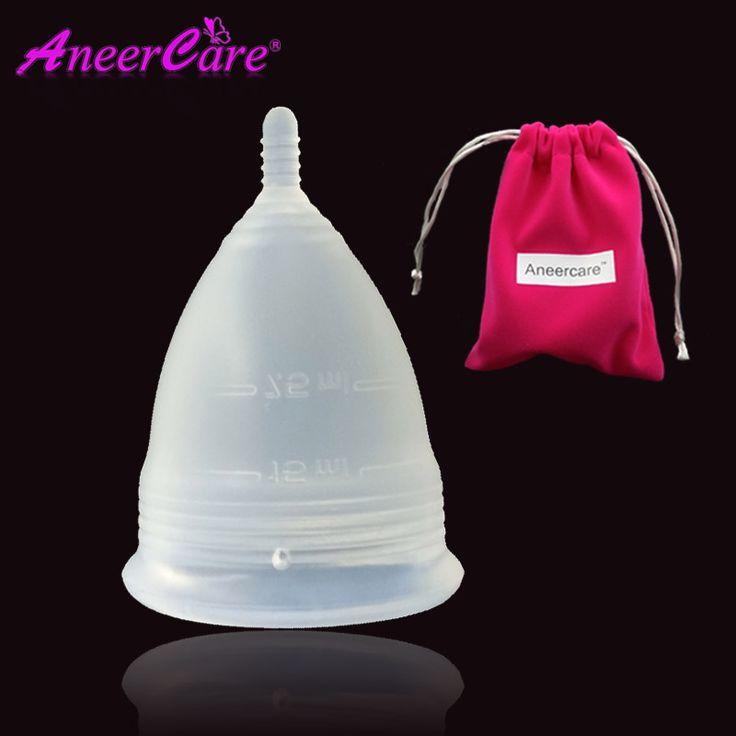 Medical Grade Silicone Menstrual Cup Diva Coppetta Mestruale Coupe Menstruelle Silicone-Menstrual-Cup Menstruatie Cup Lady