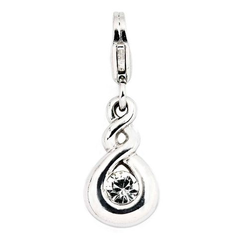 Pikorua (Twist) Sterling Silver Cham By ZALA | Shop New Zealand