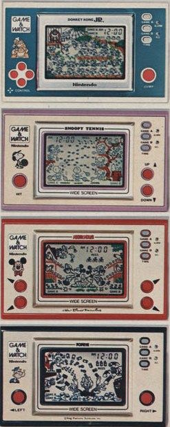 Pocketsize Video Game & Watch - when i was a kid, i seriously would've killed to have one of these. Now, I'm glad my parents emphasized other ways of entertaining myself and having fun that didn't involve video games!