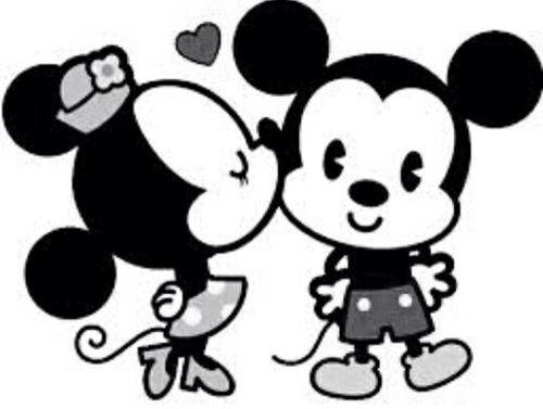 mickey y minnie mouse wallpaper blanco y negro - Buscar con Google