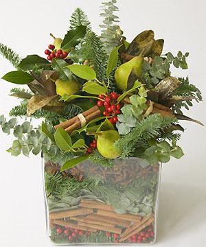 Flower-arranging: scented seasonal centrepiece