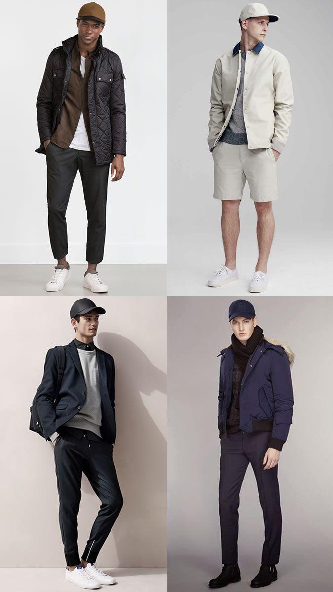 Men's Baseball Caps/Snapbacks Hats Outfit Inspiration Lookbook