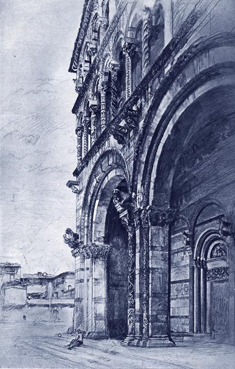 San Martino, Lucca by John Ruskin July - August 1874