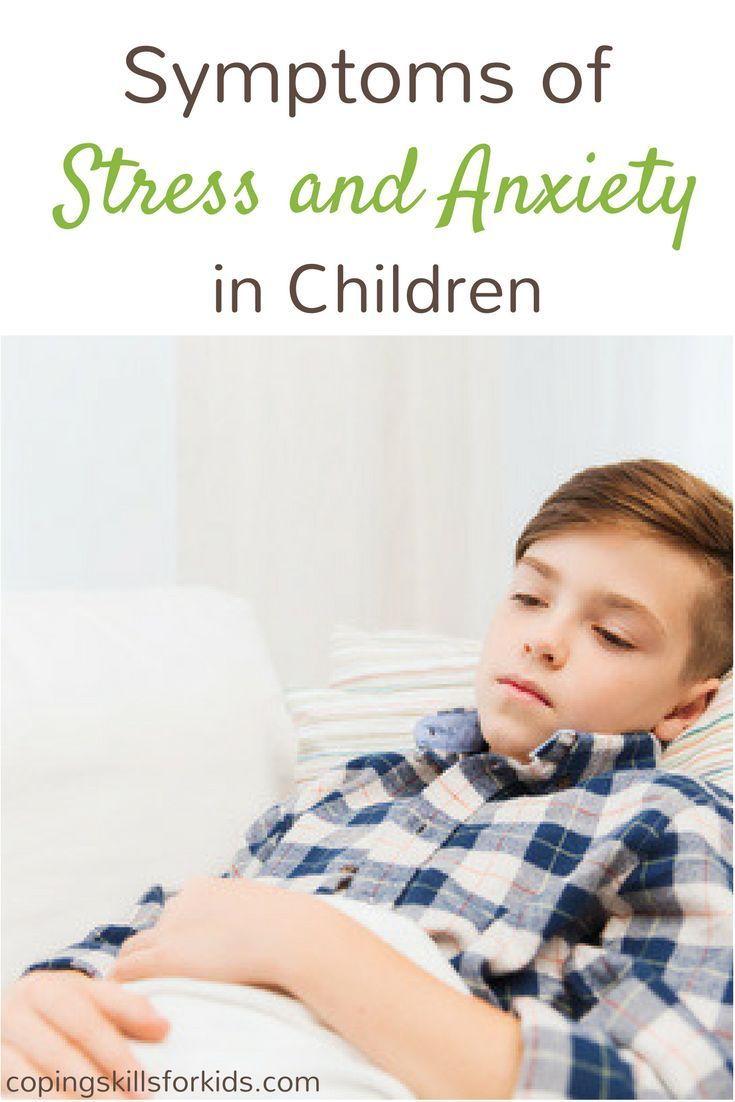 Symptoms of Stress and Anxiety in Children Not sure if your child is stressed or anxious? Read this.