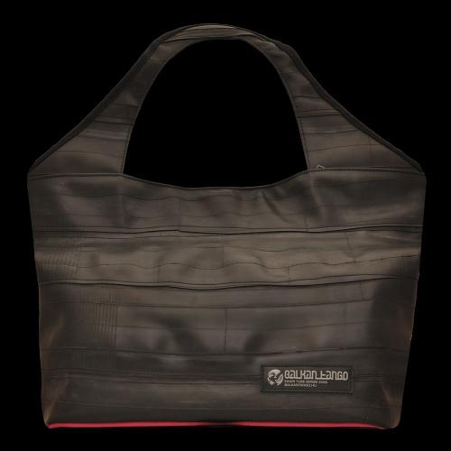 TIRANA magenta - Products - BalkanTango - Recycled Bicycle Inner Tube Bags, Purses and More