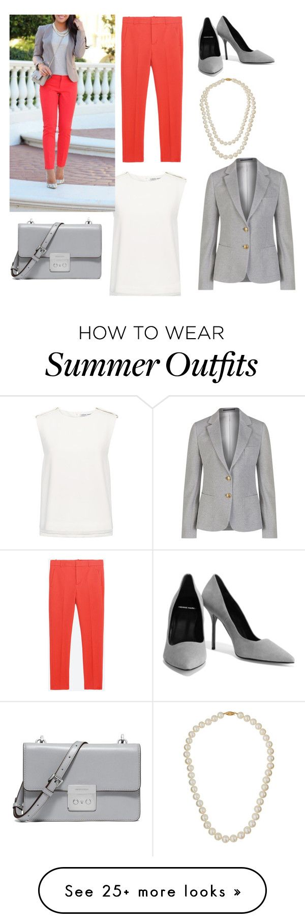 """Hello grey"" by alina-malina712 on Polyvore featuring Zara, Pierre Hardy, Finders Keepers, GANT, Belpearl and MICHAEL Michael Kors"