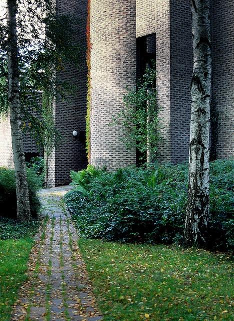 St Mark's Church, 1956-64, Björkhagen, Stockholm, Arch. Sigurd Lewerentz
