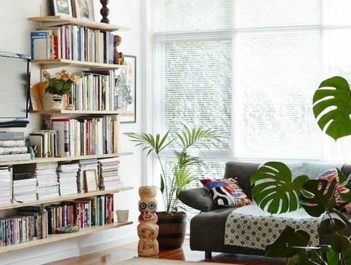 Les 25 meilleures id es de la cat gorie biblioth que conforama sur pinterest - Fabriquer bibliotheque bois ...