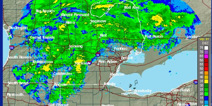 Flood warning issued for metro Detroit rivers with another day of rain expected - Detroit Free Press