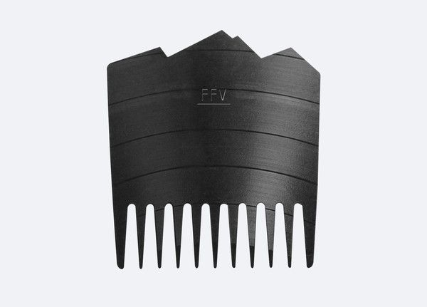 We got some custom made Fit for Vikings beard combs made from old vinyl records, how is that for recycling? The Fit for Vikings Beard Comb is designed with long thick teeth and wide spacing between them, making it easy to tackle your long, thick, curly beard. Remember that as your beard grows, so does the need to groom your beard properly.