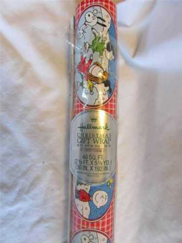 Vintage Hallmark Peanuts Christmas Gift (serie operazione nostalgia)
