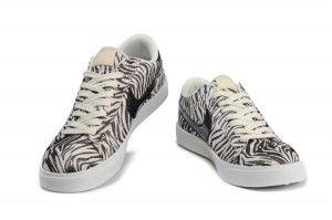 Nike Blazer Low Stampa Donna Scarpe Zebra Leopardo Nere Bianche