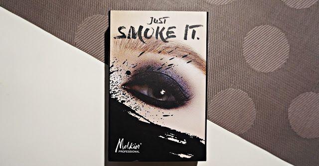 Coltul Cameliei: Giveaway paleta Melkior Just Smoke It
