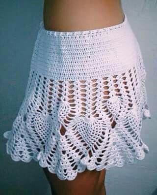 Falda en piña