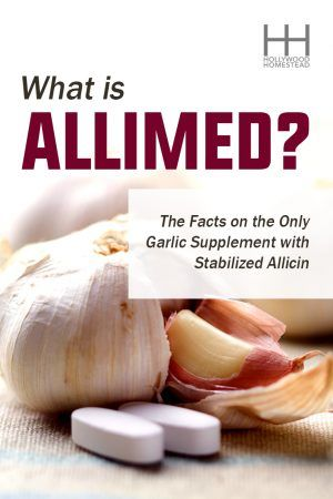What is Allimed The Facts on the Only Garlic Supplement with Stabilized Allicin