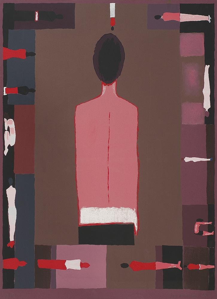 Jerzy Nowosielski | Study of an Unknown Lady, 1997 | serigraph/paper