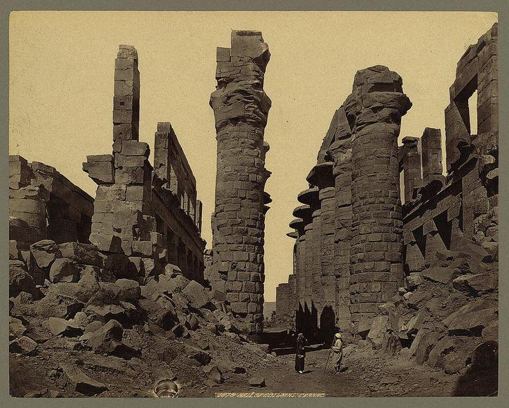 1856-1860 - Hall of Columns. Carnac | Photographer: Frith, Francis