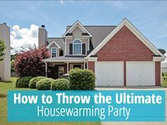 Housewarming parties are the perfect way to showcase your new home. Follow these 5 steps to throw the ultimate housewarming party.