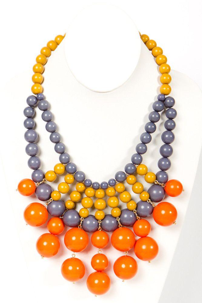 Bright Bauble Necklace: Bauble Necklace Ok, Fashion, Diy Inspiration, Jewelry Inspiration, Diy Jewelry, Bright Bauble, Bib Necklaces, Jewelry Diy, Bauble Bib