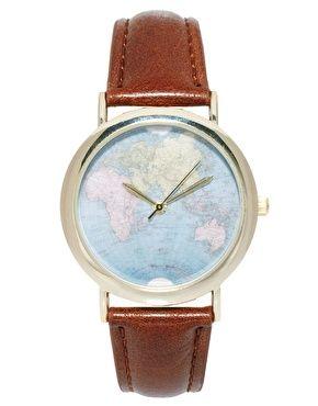 Image 1 ofASOS Globe Watch