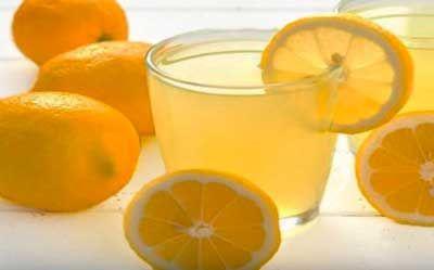 Agua con limón para perder peso