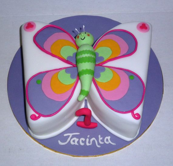 Butterfly Cake, Girls Birthday Cake, Noosa Sunshine Coast Cake Shop, Made to Order with Delivery
