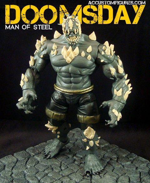 Doomsday Man of Steel Custom Action Figure