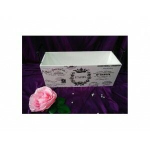Multifunction box with elegant vintage design ready to decorate your room. Size: 40x15x16 cm